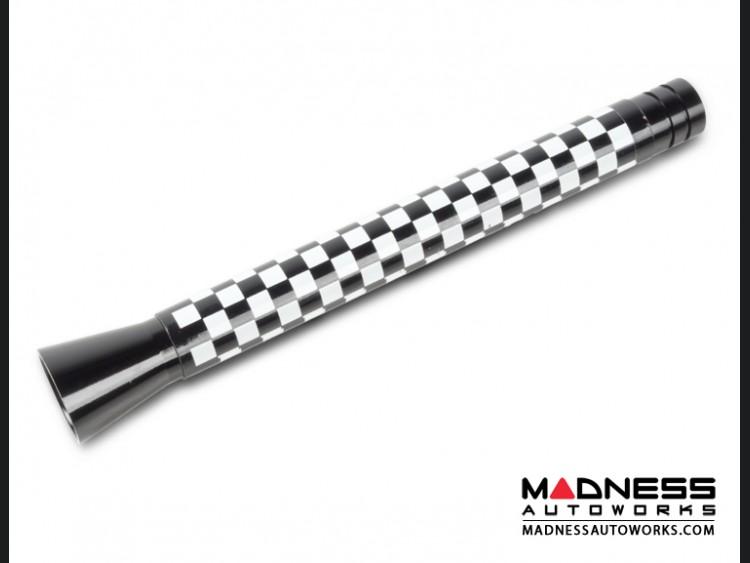 smart fortwo Antenna - Gloss Black w/ Checkered Flag