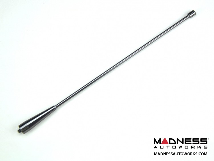 "smart fortwo Antenna - Nickel Black Chrome  Finish - Smooth Design - 11"""