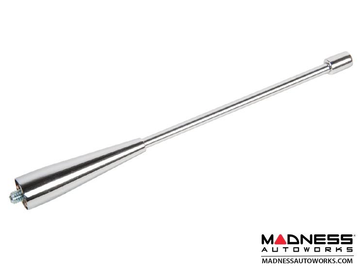 "smart fortwo Antenna - Chrome Finish W/ Smooth Design - 5"" Stem"