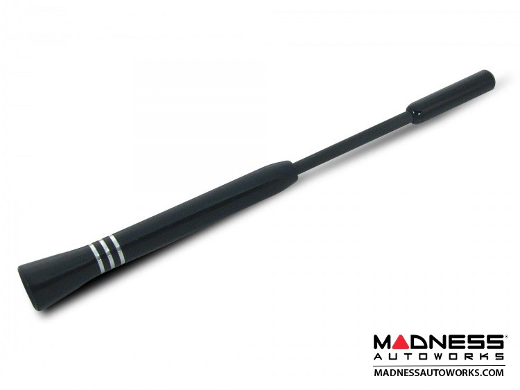smart fortwo Antenna - Sport - Black w/ Silver rings