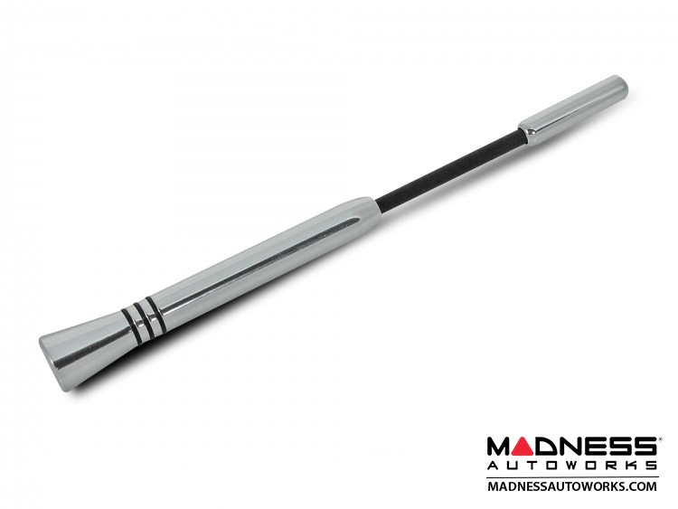 smart fortwo Antenna - Sport - Silver w/ Black rings