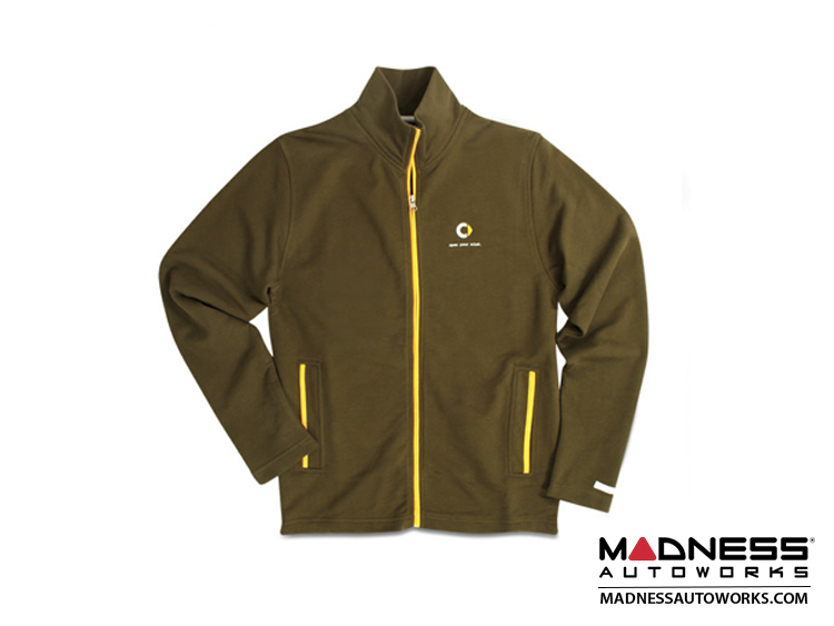smart fortwo Men's Green Logo Track Jacket - Small Size