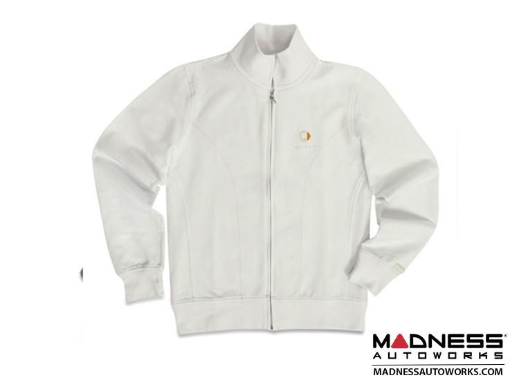smart fortwo Women's White Logo Track Jacket