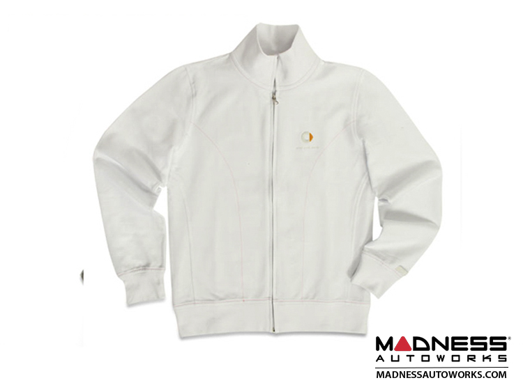 smart fortwo Women's White Logo Track Jacket - XS Size