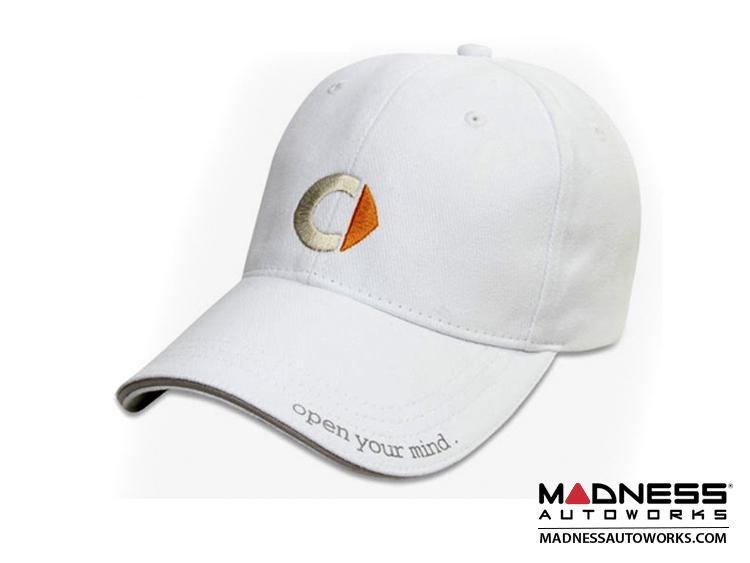 smart fortwo Cap - White w/ smart Logo