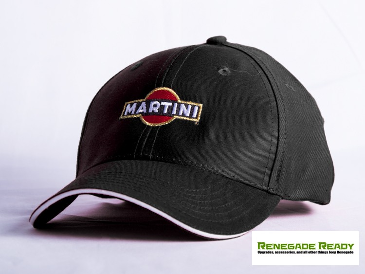 Martini Racing Hat - Black