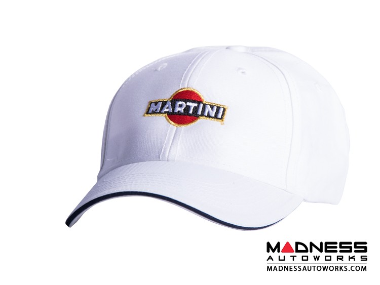 Cap - Martini Racing - White