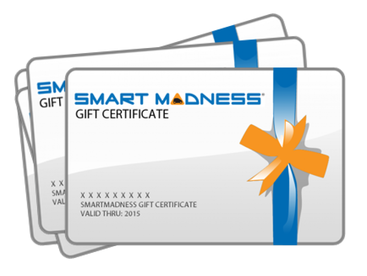 SMART MADNESS Gift Certificate