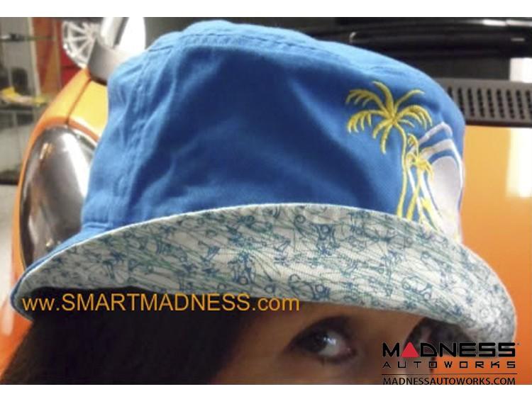 Hat - smart - Blue w/ Sun + smart Design
