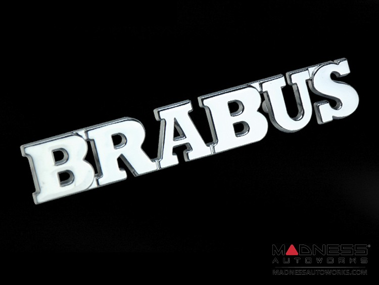 Badge - BRABUS - Chrome