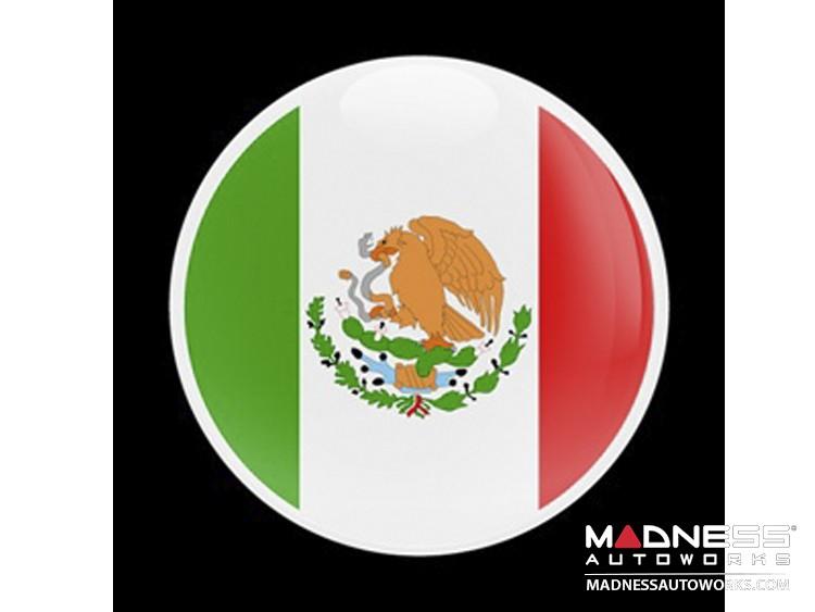 Custom Magnetic Badge - Mexican Flag