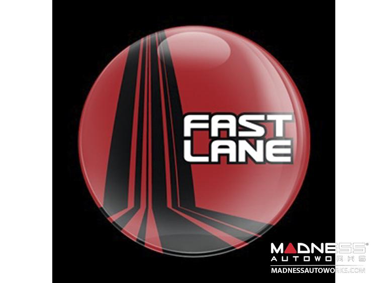 Custom Magnetic Badge - Fast Lane