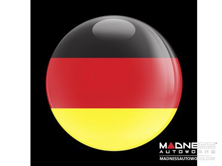 Custom Magnetic Badge - German Flag