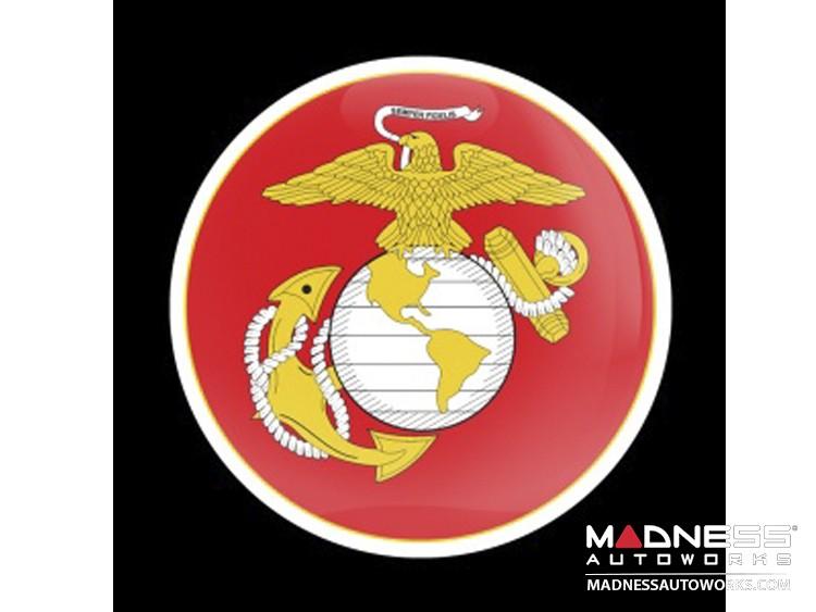 Custom Magnetic Badge - Military Marine