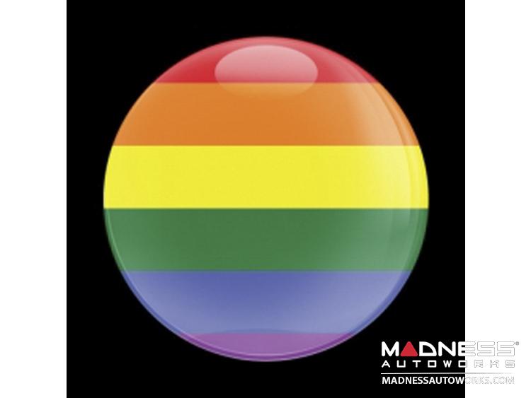 Custom Magnetic Badge - Pride
