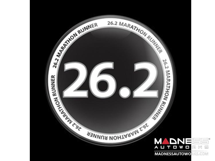 Custom Magnetic Badge - 26.2 - Marathon Runner