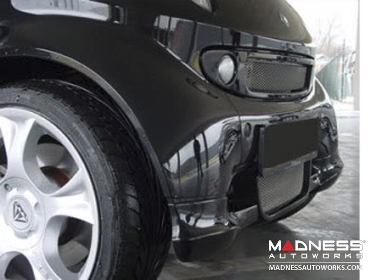 smart fortwo Front Spoiler - 450 model - S-Mann - Matte Black