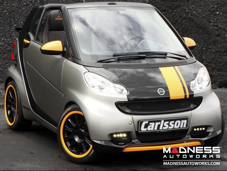 smart fortwo Aerodynamic Styling Kit - 451 - Carlsson - Front Spoiler + Rear Valance