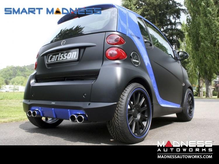 smart fortwo Aerodynamic Styling Kit - 451 - Carlsson - Front Spoiler + Rear Valance