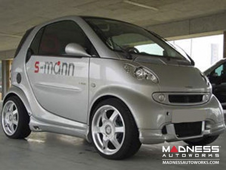 smart fortwo Front Spoiler - 450 model - S-Mann - Silver