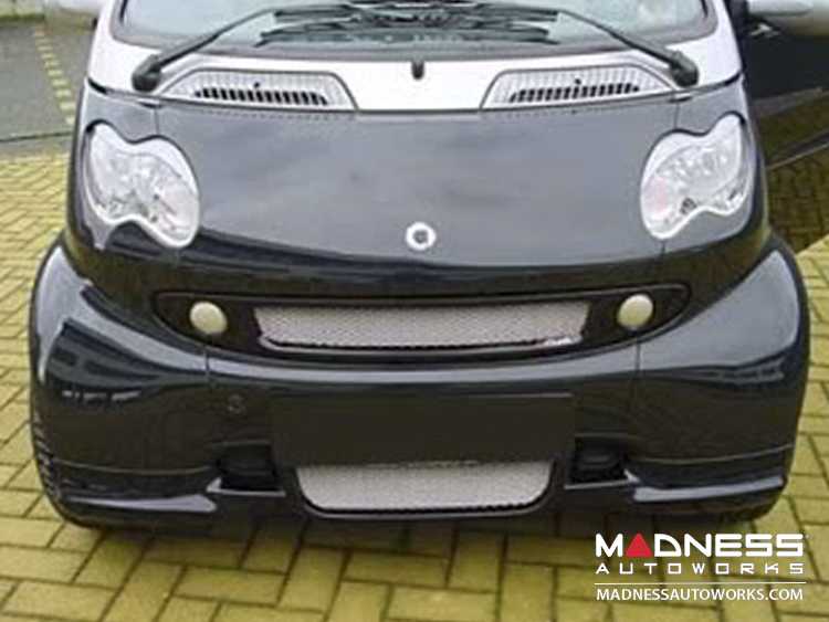 smart fortwo Front Grill - 450 model - S-Mann - Black