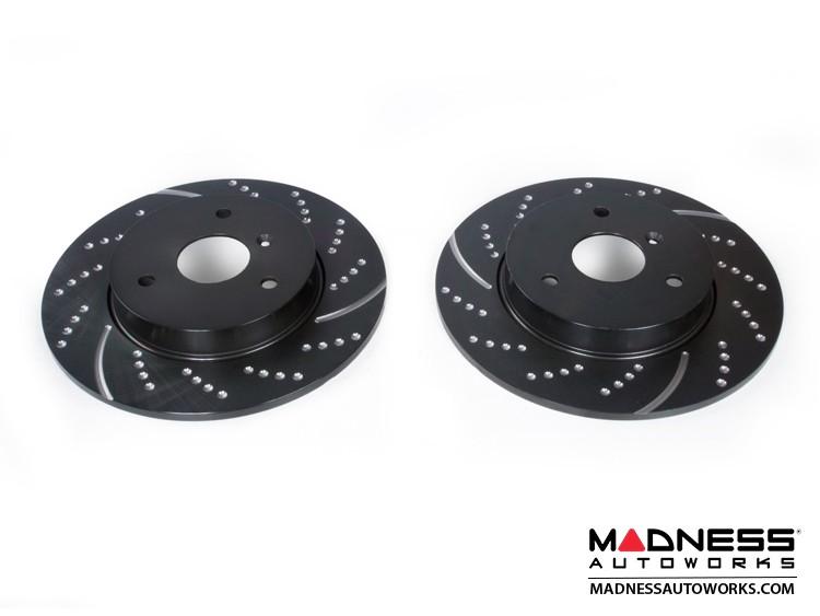 smart fortwo Brake Rotors - 451- EBC - GD Sport
