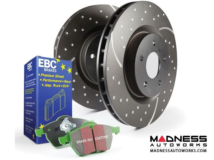 smart fortwo Front Brake Upgrade Kit - 451 model - EBC - Stage 10