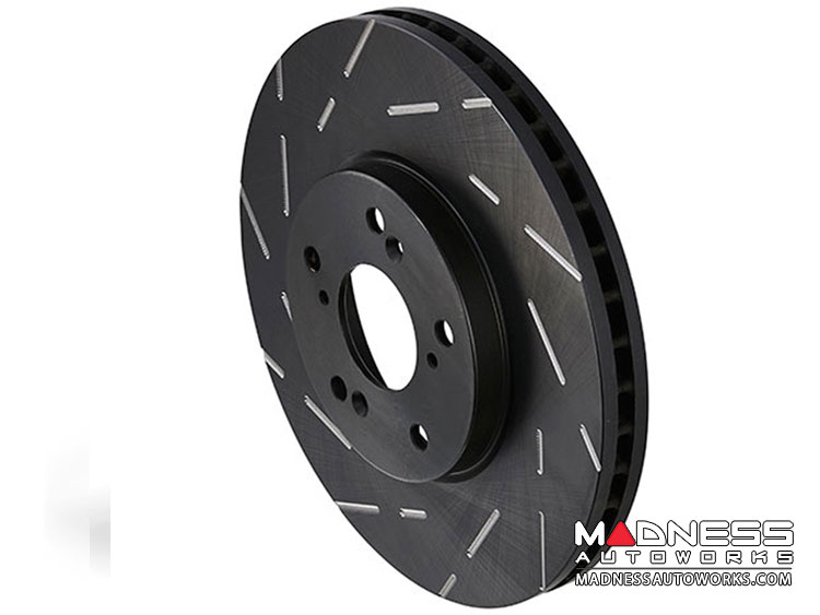 smart fortwo Front Brake Upgrade Kit - 451 model - EBC Greenstuff Brake Pads - USR Rotors - Stage 2
