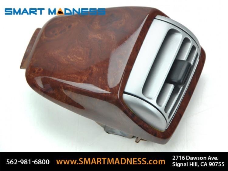 smart fortwo Dash Top Vents (2) - 451 Model - Burlwood Finish