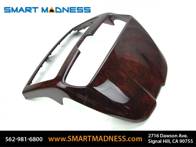 smart fortwo Center Dash Housing - 451 model - Burlwood Finish