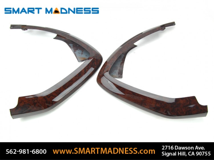 smart fortwo Dash Corner Trim - 451 model - Burlwood Finish