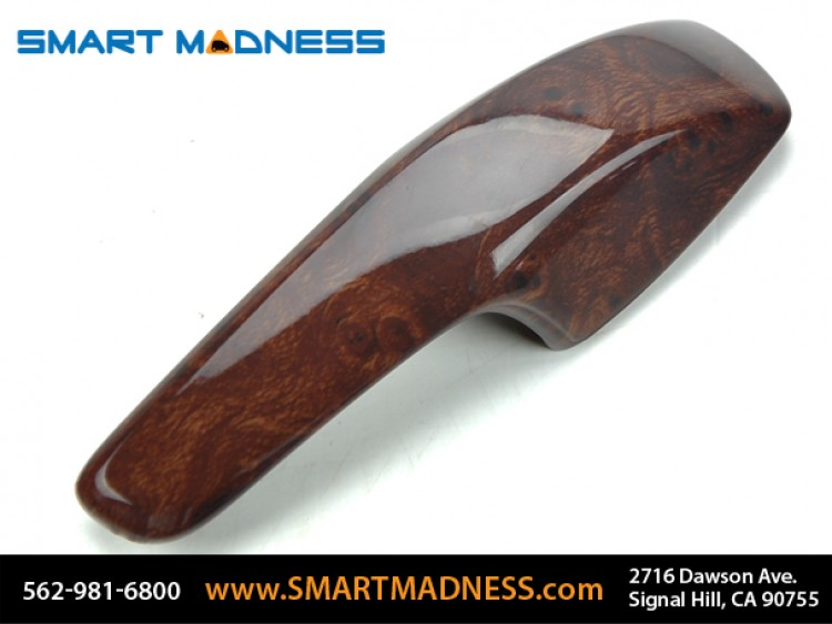 smart fortwo Interior Door Pulls (L&R) - 451 model - Burlwood Finish