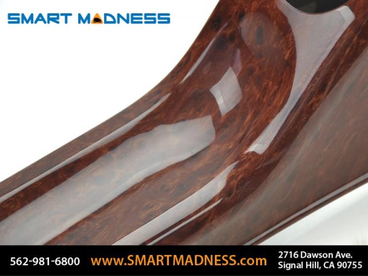 smart fortwo Floor Console - 451 model - Burlwood Finish