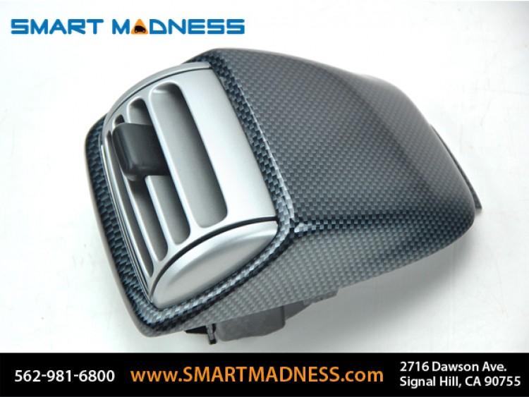 smart fortwo Dash Top Vents (2) - 451 model - Carbon Fiber Finish