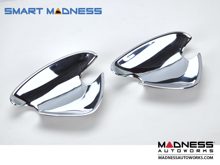 smart fortwo Door Handle Recesses - 450 Model - Chrome Plated Finish