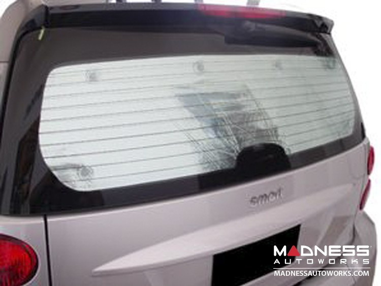 smart fortwo Rear Window Shade - 451 model - Coupe
