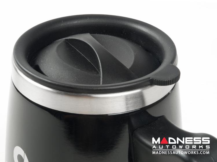 Desk Mug - Stainless Steel - smart Logo - Black Finish