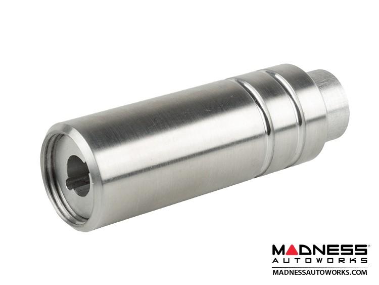 smart fortwo eBrake Handle - 451 model - Brushed Aluminum