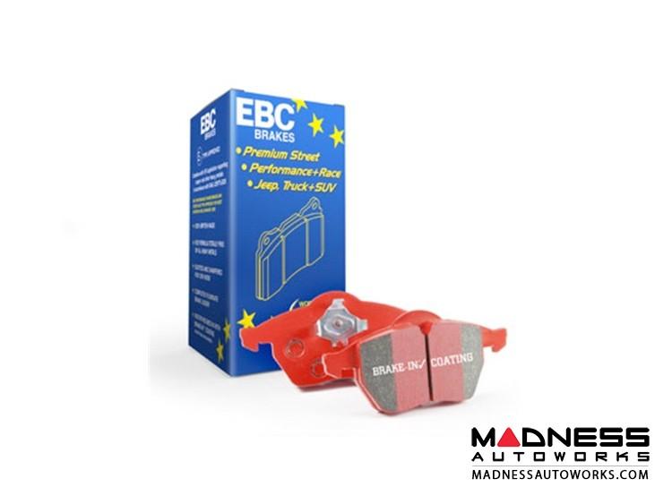 smart fortwo Brake Pads - 451 - EBC - RedStuff Ceramic High Performance