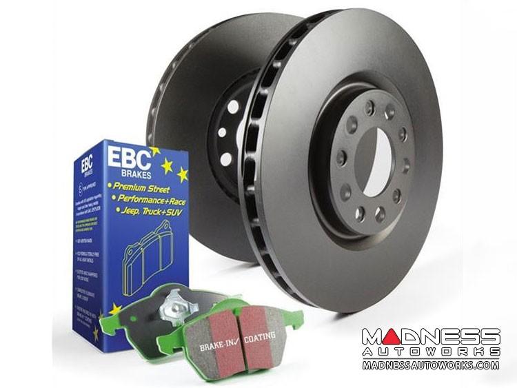 smart fortwo Front Brake Upgrade Kit - 451 model - EBC - Stage 11 - RK Rotors/Greenstuff Pads