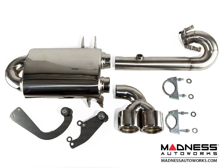 smart fortwo Performance Exhaust - 450 model - T1 600 & 700 cc Engines (no Catalytic Converter)