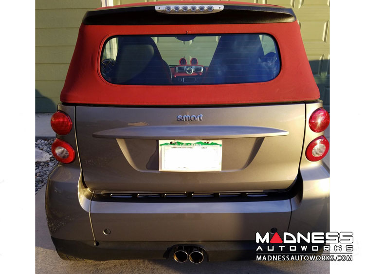 smart fortwo Performance Exhaust - 451 - SILA Concepts - Center Exit