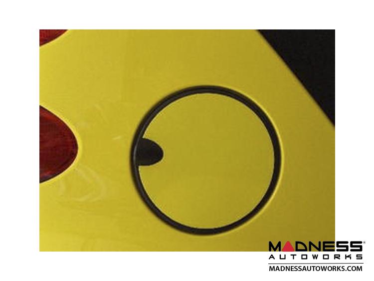 smart fortwo Fuel Door Overlay - 451 model - Yellow