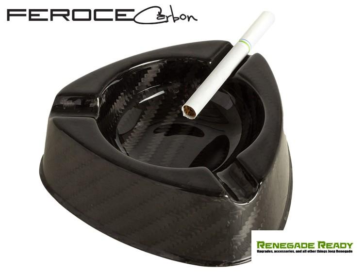 Carbon Fiber Ashtray by Feroce