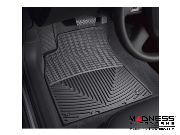 smart fortwo Floor Mats - All Weather Rubber - 451 model - WeatherTech