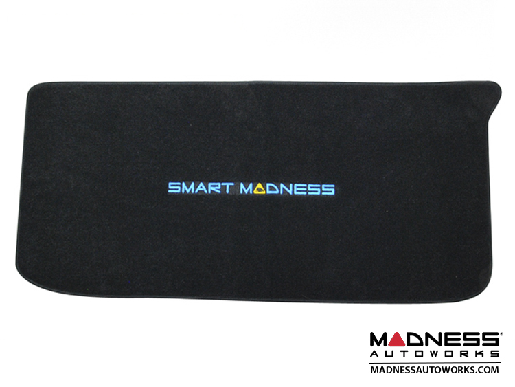 smart fortwo Trunk Carpet Mat - 451 model - MADNESS