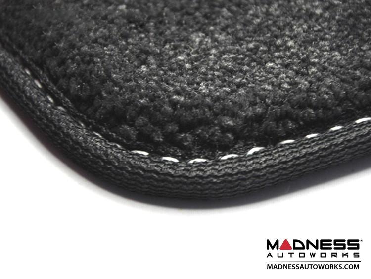 smart fortwo Trunk Carpet Mat - 451 model - MADNESS