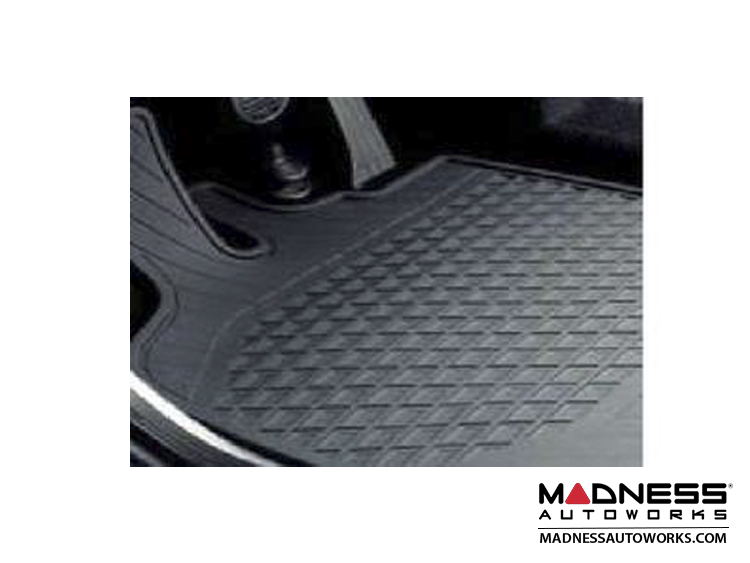 smart fortwo Floor Mats - All Weather Rubber - 451 model - Standard Version