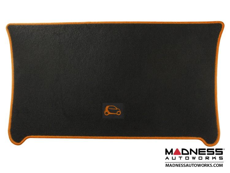 smart fortwo Cargo Mat - 453 - Carpet w/ Orange Binding