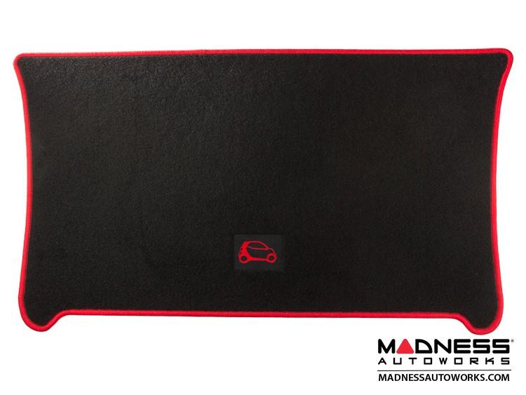 smart fortwo Cargo Mat - 453 - Carpet w/ Red Binding